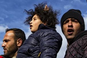 Protest Idomeni GR 2015