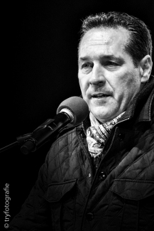 Heinz Christian Strache Nationalratsabgeordneter, FPÖ Parteivorsitzender