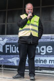 3800 Menschen demonstrierten am 18. März in Wien für Menschenrechte