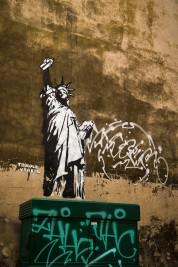 Spraying for Liberty