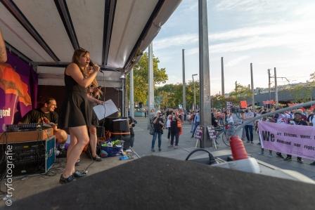 Demo gegen EU Flüchtlingskonferenz in Wien